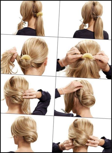 schicke frisuren zum selbermachen leichte schicke frisuren