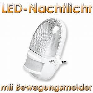 Einbaustrahler Mit Bewegungsmelder : nachtlicht mit bewegungsmelder 3 leds wei im led onlineshop ~ Watch28wear.com Haus und Dekorationen