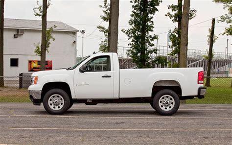 gmc sierra hd work truck  drive truck trend