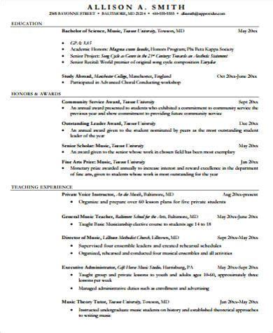 sle resume 7 exles in word pdf
