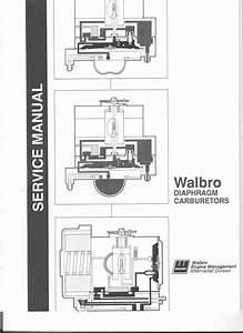 Walbro Diaphragm Carburetors Service Manual Download