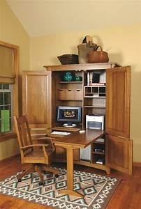 Amazing Armoire Desk Decorating Ideas For Home Office
