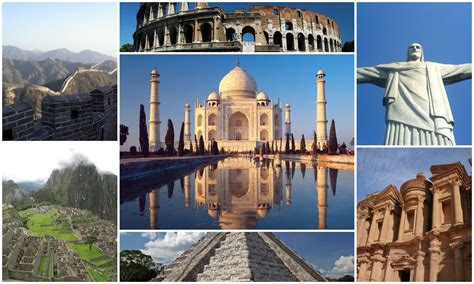 7 modern wonders of the world meets