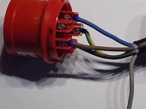 Fahrradlampe Anschließen 4 Kabel : cee stecker anschlie en schritt f r schritt anleitung ~ Jslefanu.com Haus und Dekorationen