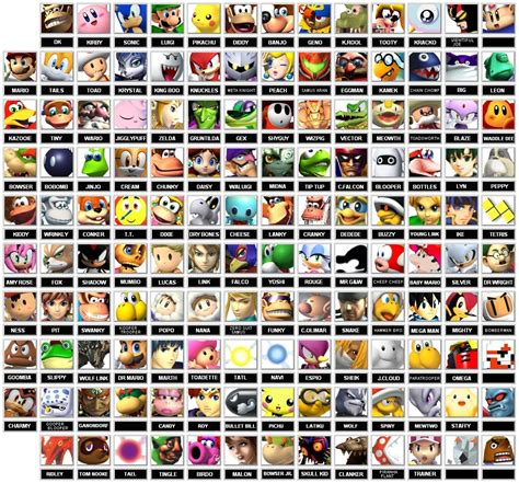 Imagenes De Personajes De Smash Bro Taringa