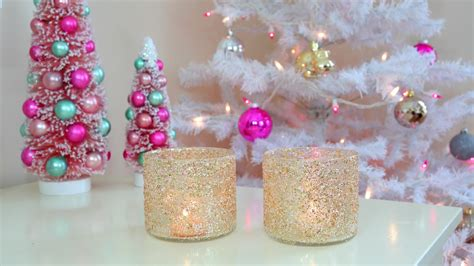 download diy room decoration chrismas vedio diy winter room decor frosty glitter jars