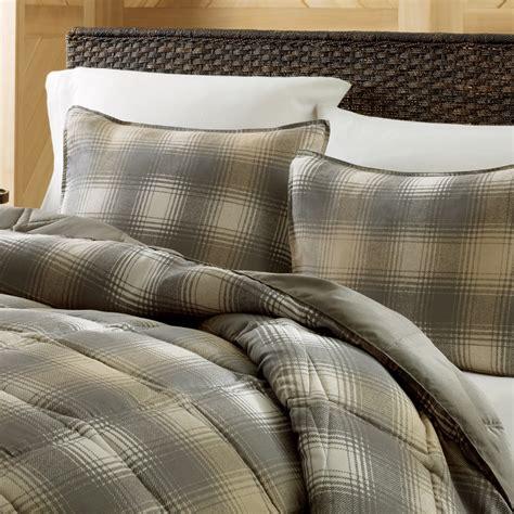Eddie Bauer Beds by Eddie Bauer Nordic Plaid Alternative Comforter Set
