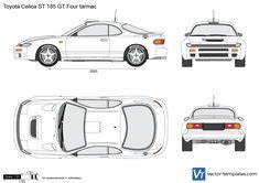 templates cars toyota With toyota celica gt4