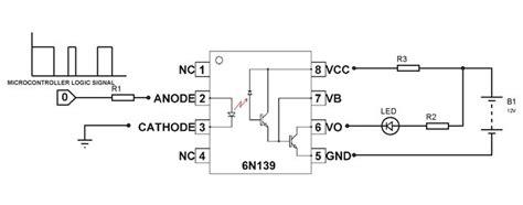 optocoupler circuit   diy electronics