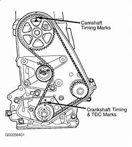 Valve Timing Four Cylinder Front Wheel Drive Automatic