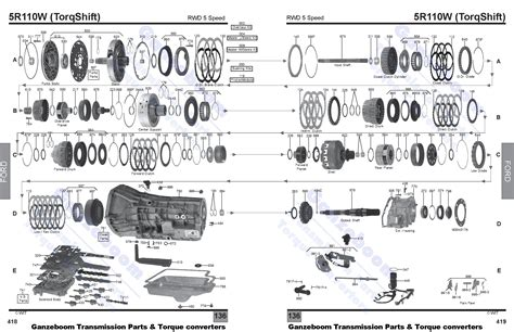 A4ld Transmission Overhaul Diagram by 5r110w Ford Parts Automatic Transmissions