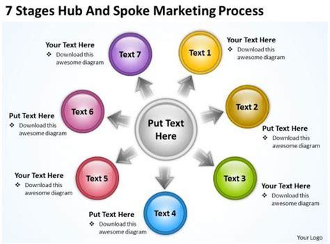 business process workflow diagram marketing powerpoint