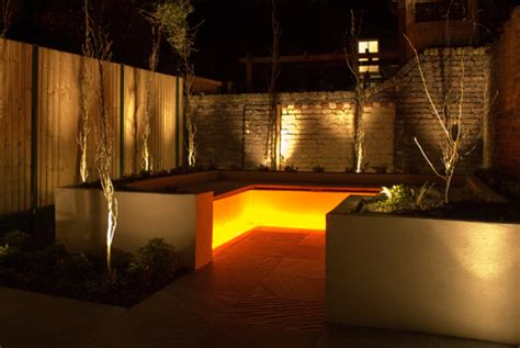 modern outdoor lighting ideas for landscape patio or