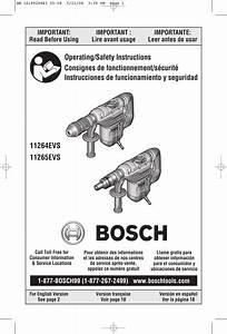 Bosch 11264evs Bm 1619929843 05 08 User Manual Drill