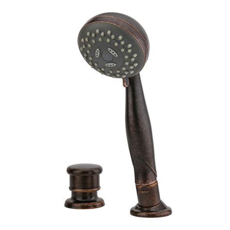 Pfister Handheld Shower - pfister tub shower and diverter kit in rustic
