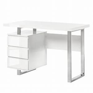 Schreibtisch Weiß Hochglanz Günstig : schreibtisch wei hochglanz roller ~ Whattoseeinmadrid.com Haus und Dekorationen