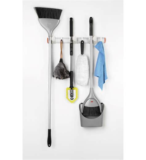oxo good grips expandable wall mounted organizer  broom