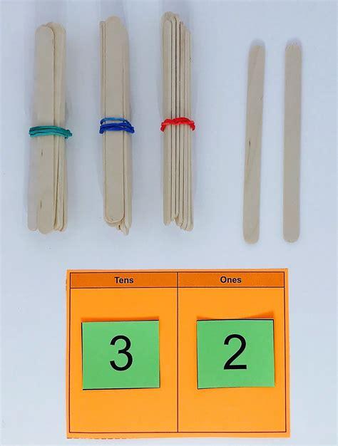 st grade number tens  life skills classroom math