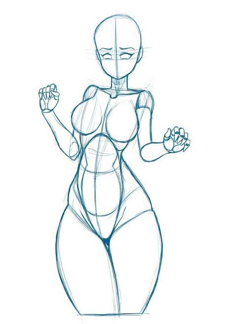 Anime Girl Base Poses