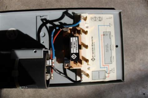 ot wiring  pump control box