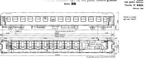 carrozze treni carrozze uic x parte quinta le carrozze ristoro