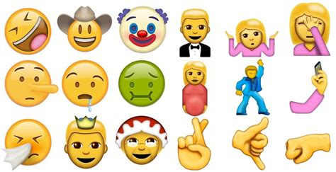 emojis iphone emoji gods approve 72 new emoji for iphone android