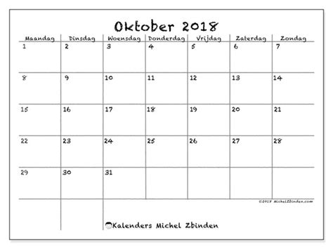 kalenders oktober mz michel zbinden nl