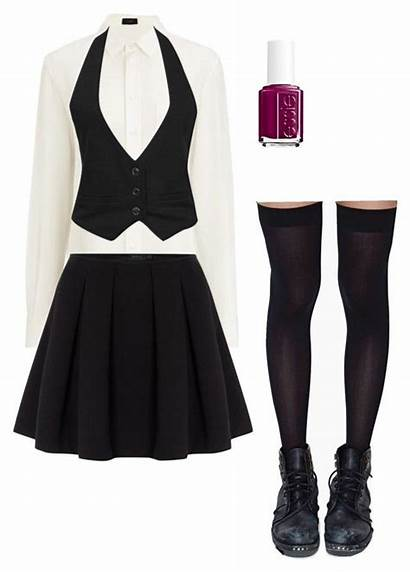 Private Uniforms Uniform Polyvore Outfits College Clothing