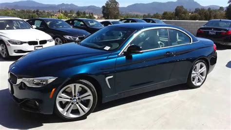 New Bmw 435i Convertible Midnight Blue Sport Line Car