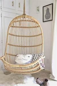 Fauteuil Suspendu Osier : home garden 35 fauteuils suspendus en rotin ~ Teatrodelosmanantiales.com Idées de Décoration