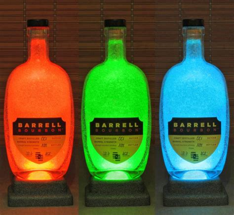 bourbon color barrell bourbon kentucky whiskey color changing bottle