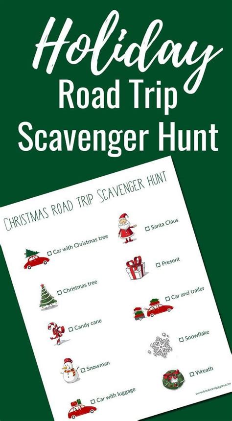 Road Trip Scavenger Hunt And How To Keep Sibling Peace In