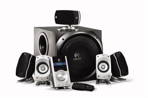 5 1 surround system logitech z 5500 thx certified 5 1 digital surround sound speaker system