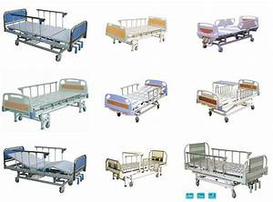 Aluminum Alloy Movement Hand Medical Hospital Beds With 3