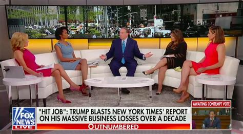 fox news outnumbered panel warns trump  releasing taxes