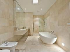 Photo Stone Tile Bathrooms Travertine Marble Tiles Amalfi Tiles