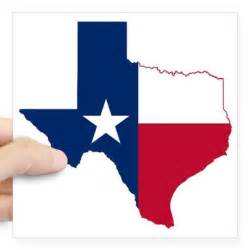 texas flag map square sticker 3 quot x 3 quot by admin cp108851