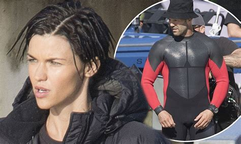 ruby rose nz ruby rose joins jason statham on the new zealand set of