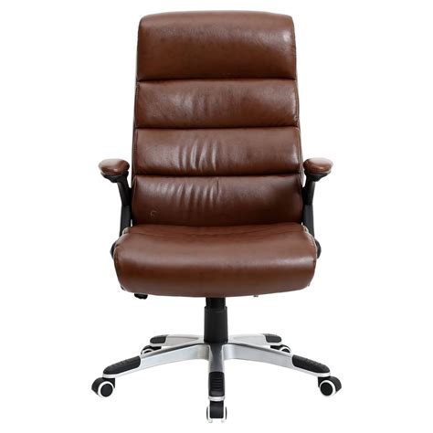 high back desk chair havana luxury reclining executive leather office desk