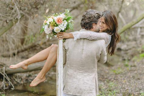 lake tahoe wedding inspiration romantic creekside