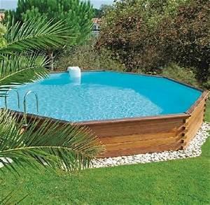 Preparation Terrain Pour Piscine Hors Sol Tubulaire : comment amenager autour une piscine hors sol ~ Premium-room.com Idées de Décoration