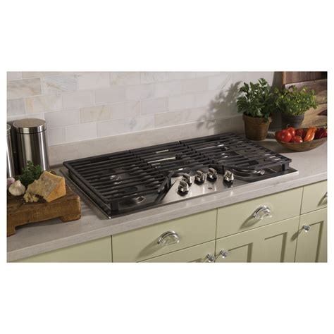 Gas Cooktop by Jgp5036slss Ge 36 Quot Built In Gas Cooktop With Power Boil