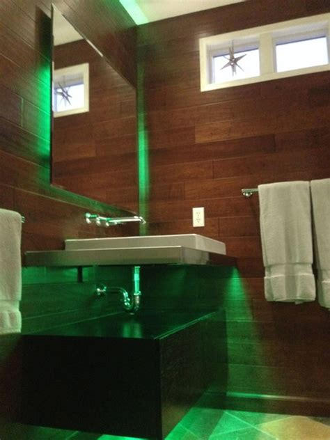 led bathroom lighting modern bathroom st louis