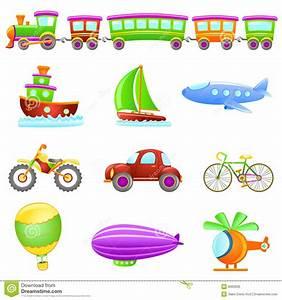 Cartoon Transportation Vector Stock Vector - Image: 9060936
