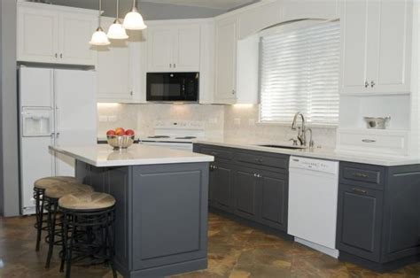 grey kitchen cabinets with white appliances best gray and white kitchens ideas weekly design 8361