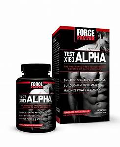 Force Factor Test X180 Alpha  Testosterone Booster   Performance Enhancer With T