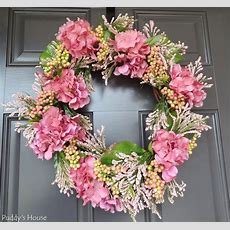 Diy Spring Wreath  Puddy's House