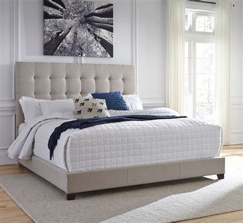 Bedroom Decorating Ideas Upholstered Bed by Culverbach Bedroom Set W Beige Upholstered Bed By