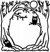 Halloween black and wh...Ten Clipart Black And White