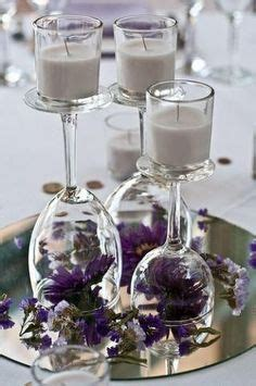 Candle Decorating With Glasses by 1000 Images About Home Decor Wine Glass On